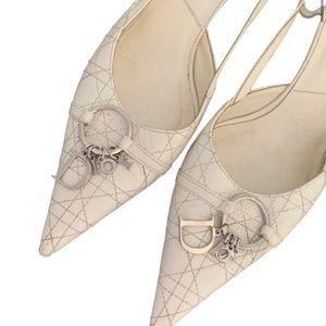 Vintage Lady Dior White Dècolettè Christian Dior